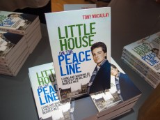Book launch of Little House on a Peace Line (Tony MACAULAY) (c) Allan LEONARD @MrUlster
