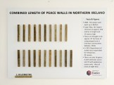 Combined Length of Peace Walls in Northern Ireland (c) Allan LEONARD @MrUlster
