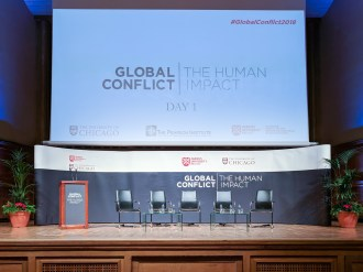"Conference: ""Global Conflict: The Human Impact"". Queen's University Belfast, Belfast, Northern Ireland. (c) Allan LEONARD @MrUlster"