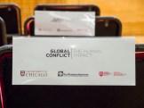 """Conference: """"Global Conflict: The Human Impact"""". Queen's University Belfast, Belfast, Northern Ireland. (c) Allan LEONARD @MrUlster"""