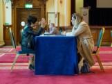 Living Library event. City Hall, Belfast, Northern Ireland. (c) Allan LEONARD @MrUlster