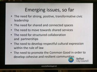 Emerging issues. (c) Allan LEONARD @MrUlster
