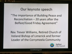 Keynote speech. (c) Allan LEONARD @MrUlster