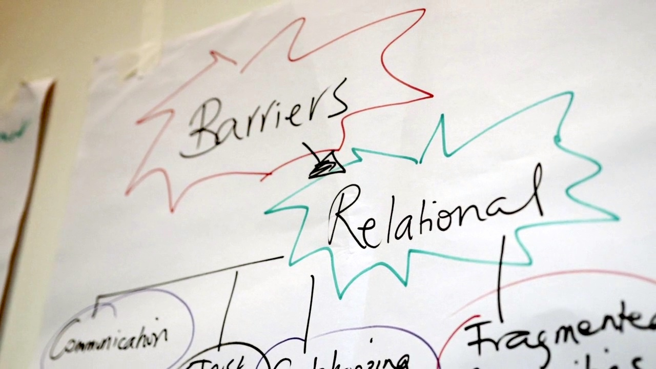 Transform for Change: supporting people in Belfast building positive relations