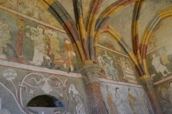 The oldest fresco in the Czech Republic
