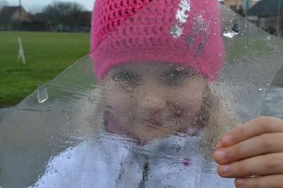 Emma Behind Ice