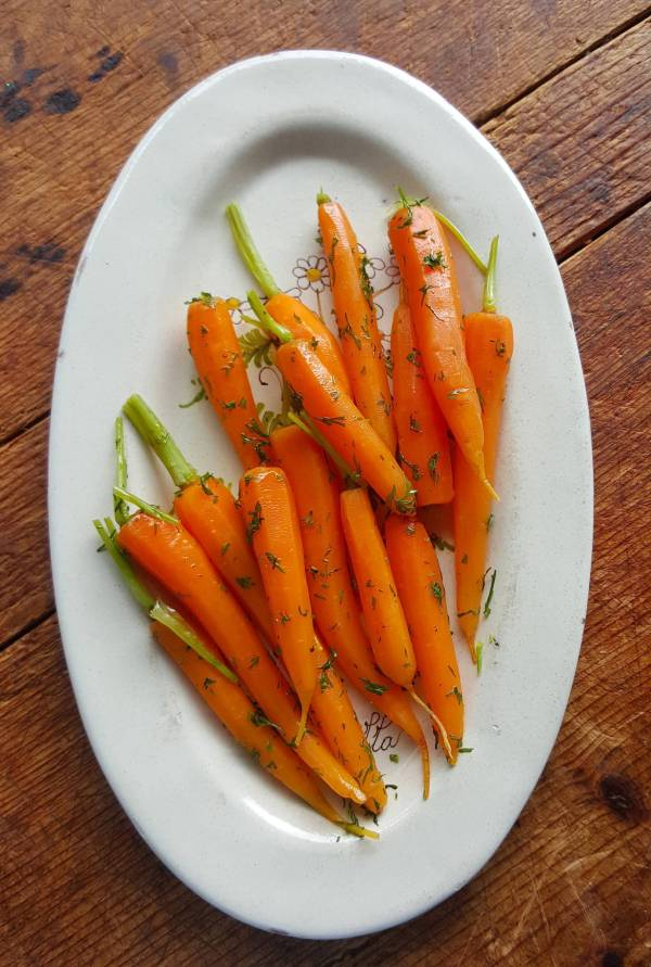 Warm Carrot Salad 5