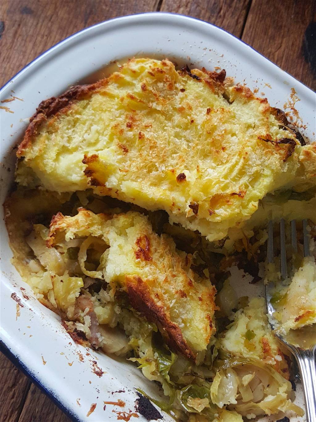 Brussels Sprouts & Potato Bake 8