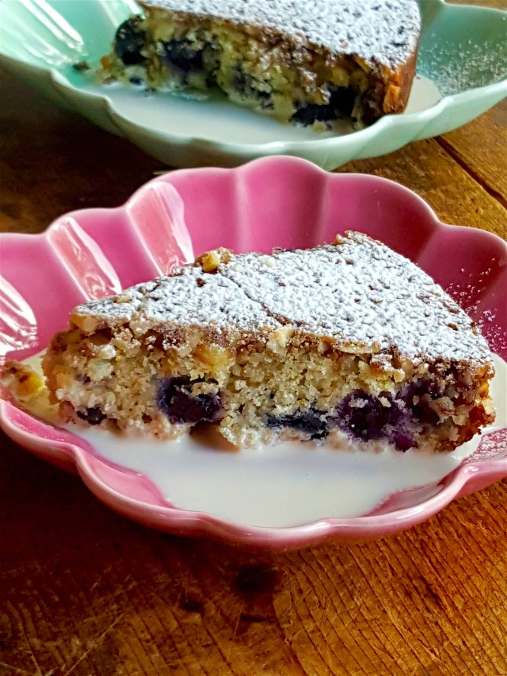 Blueberry Muffin Cake