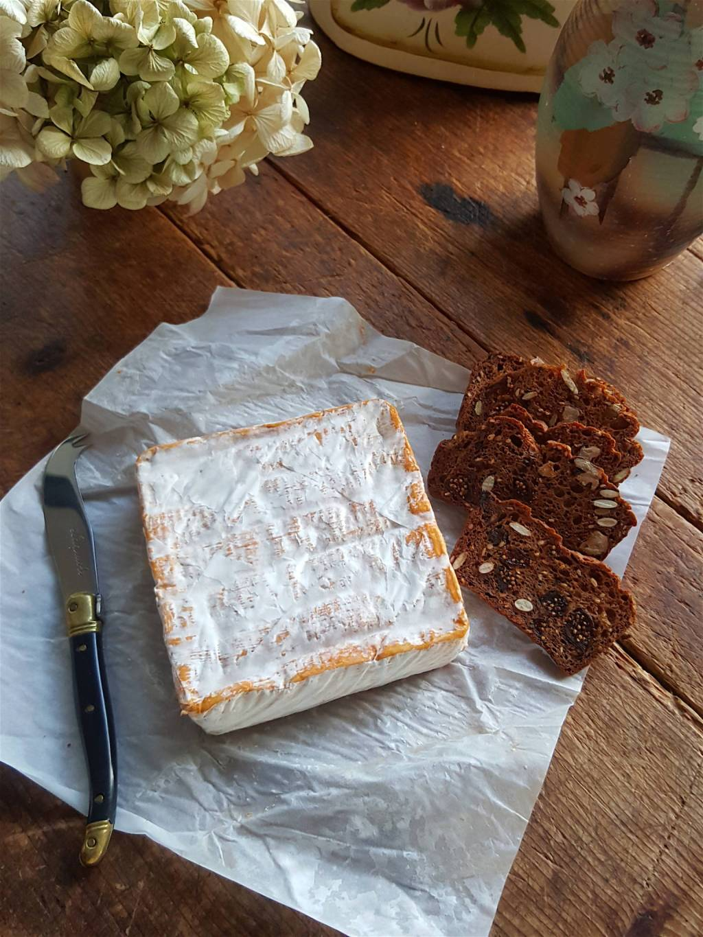 NZ Over the Moon Galac tic Gold washed rind cheese