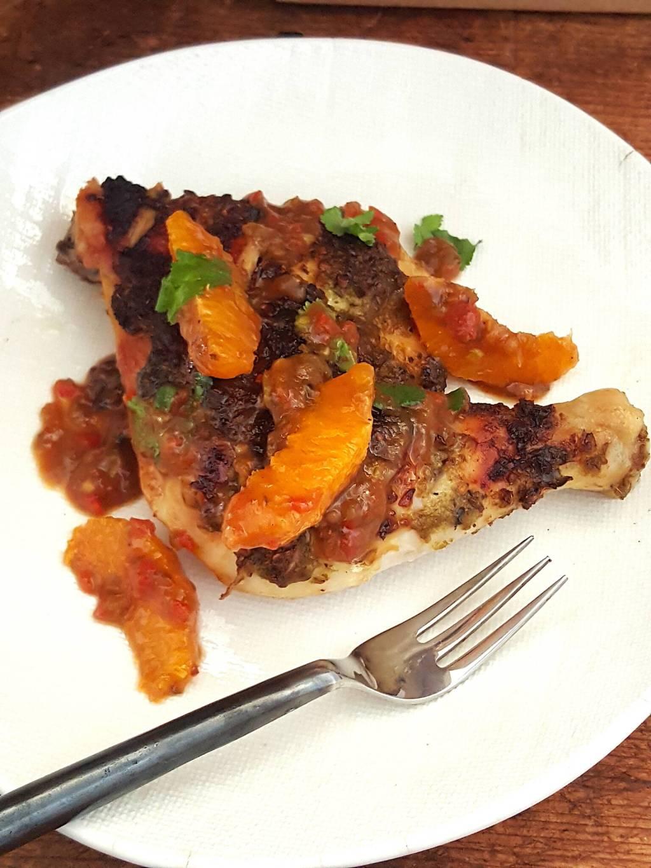 This will bring them running! Chicken Thighs with Tamarind & Orange