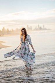 Model Beach Photo Shoot Gold Coast