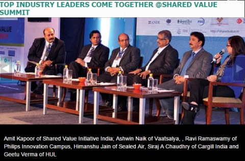 TOP INDUSTRY LEADERS COME TOGETHER @SHARED VALUE SUMMIT