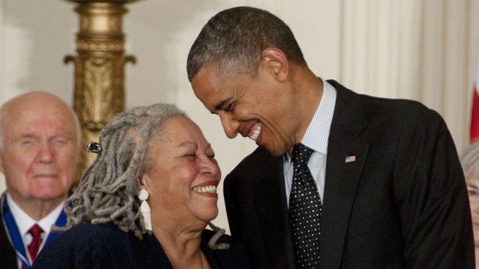 Barack Obama & Toni Morrison