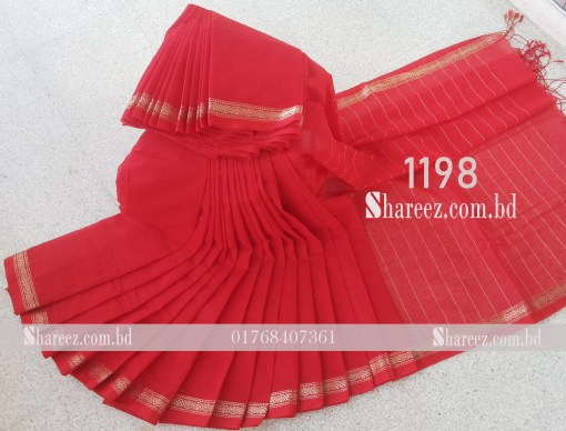 Soft Cotton Saree 1198