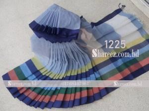 Rainbow Cotton Saree 1225