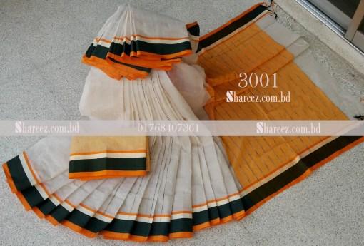 Soft Cotton Saree 3001