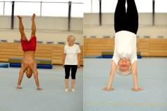 Aos 88 anos, Johanna Quaas é uma verdadeira estrela da ginástica. Quaas só começou a treinar quando ela fez 56.