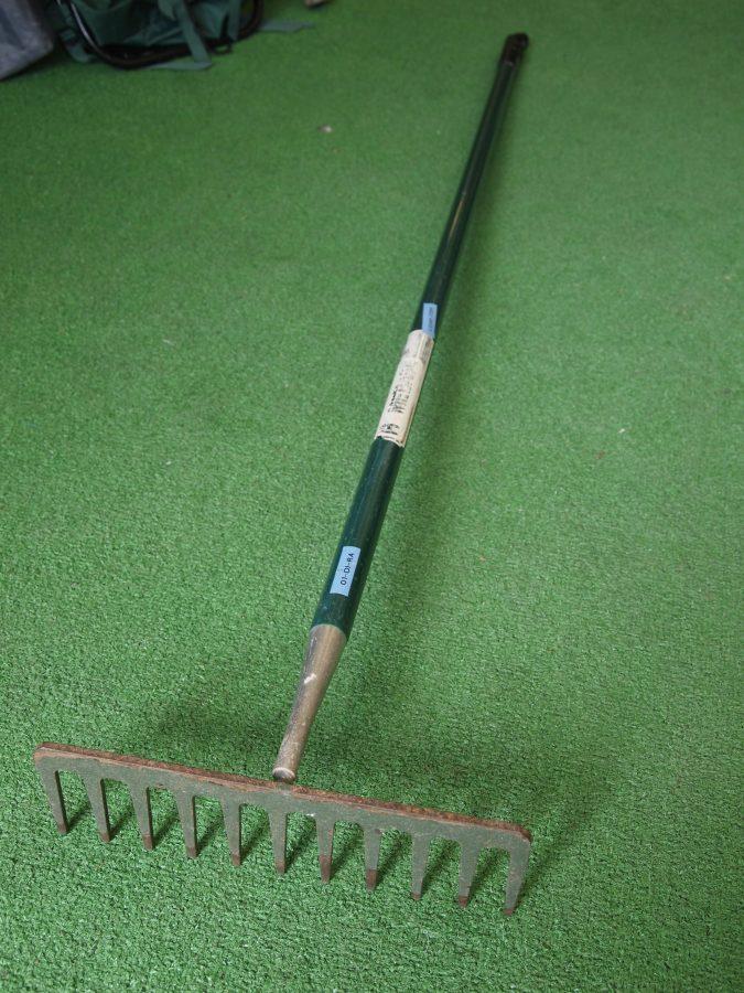 Green Handled Rake