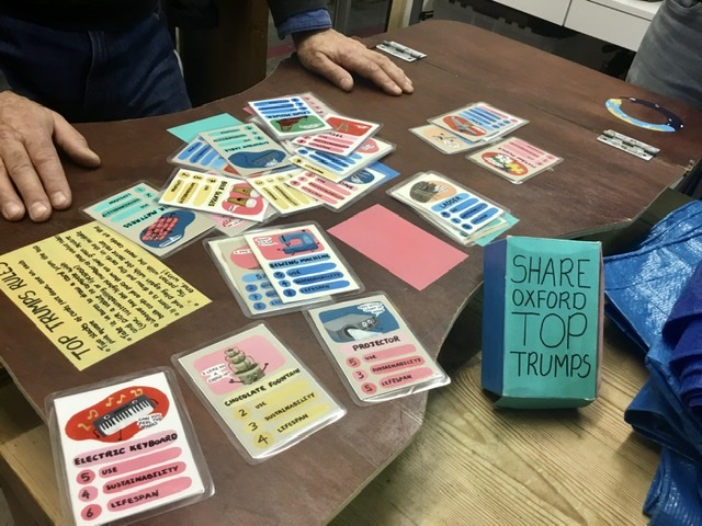 SHARE Oxford Top Trumps!