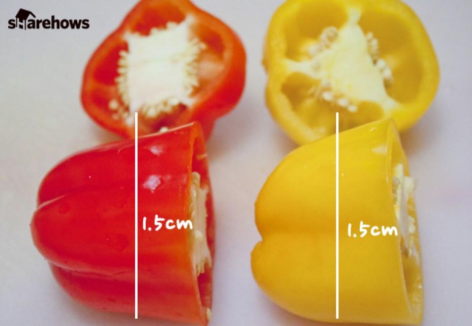 파프리카 달걀 프라이 만드는 방법