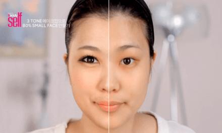 작은 얼굴 만드는 메이크업 방법