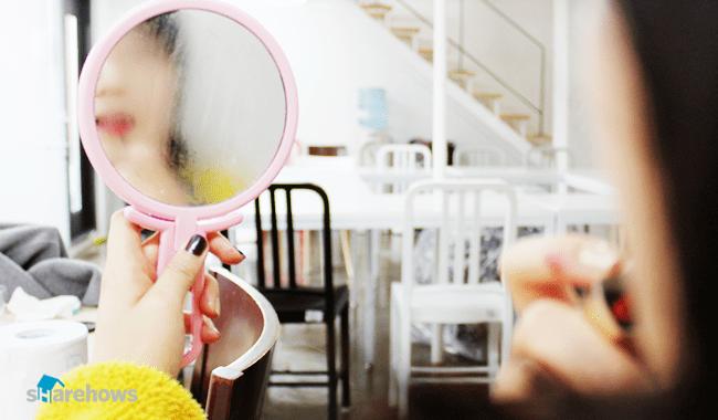 비누로 김 서림 방지하는 방법