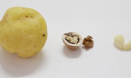 감자, 호두, 마늘 쉽게 까는 방법