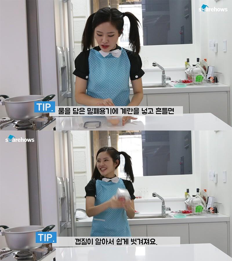making heart egg 04