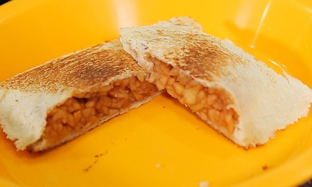 오븐 없이 식빵으로 애플파이 만들기