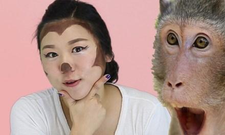 [허배우의 메이크허] 원숭이 분장 하는 방법