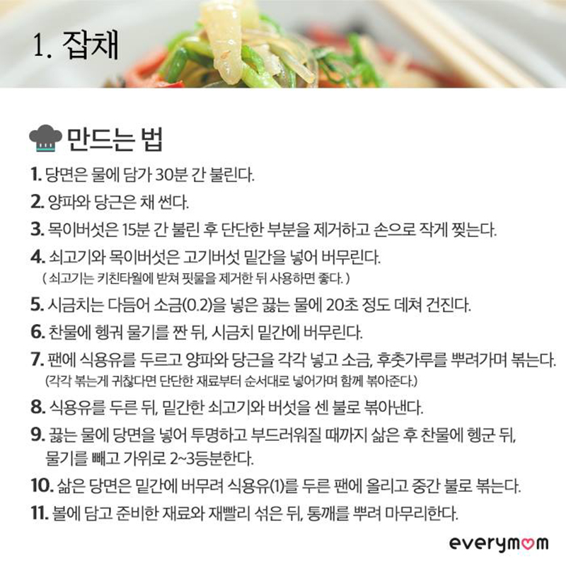 Chuseok food recipe 11