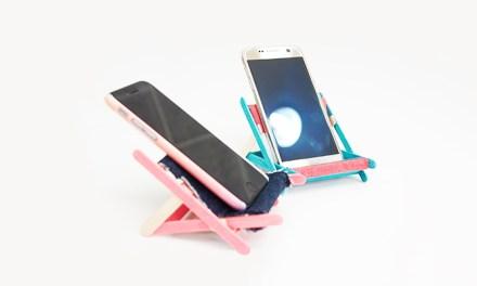 비치체어 핸드폰 거치대 만들기