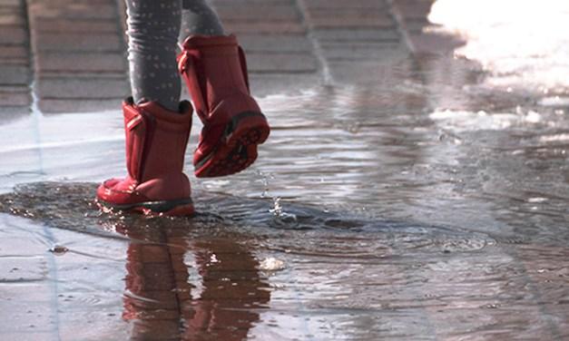비에 젖은 신발 잘 관리하는 방법