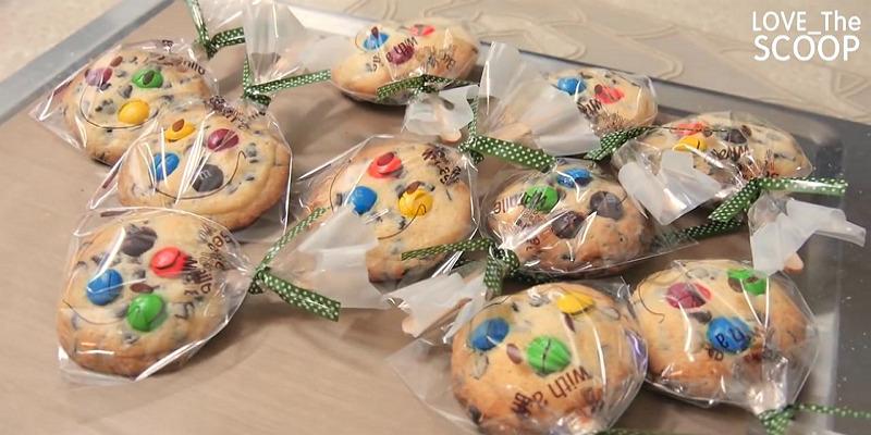 선물로 짱! 초코칩 막대쿠키 만들기 !