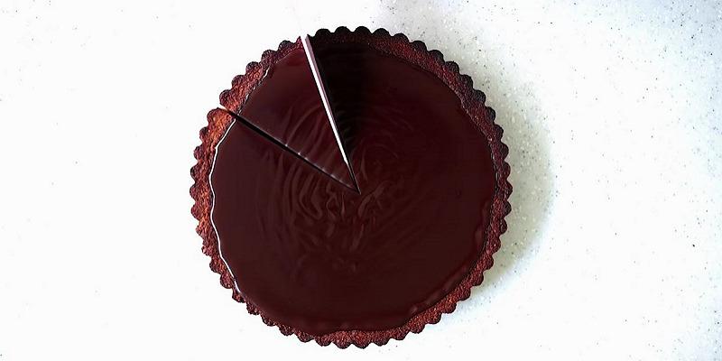 피칸 기지 시나몬 초콜릿 타르트 만들기