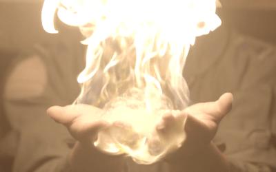 [슬로우 아시안] 화상하나 입지 않고 손에 불을 붙일 수 있다!