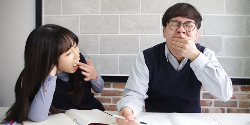 수업 중에 과자 몰래 먹고 싶을 때 대처법