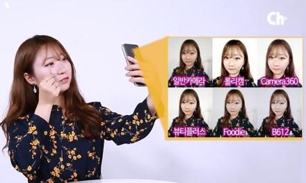 셀카 어플 6종 비교 리뷰
