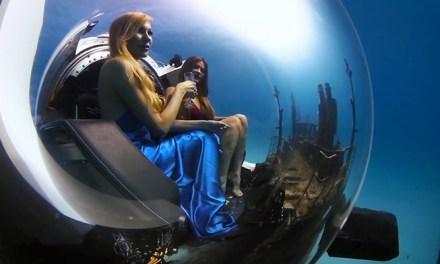 500m까지 잠수 가능한 개인용 럭셔리 잠수함