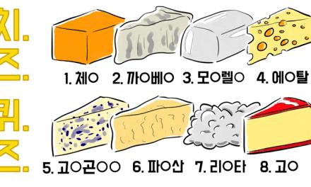 알아두면 쓸 데 없는 치즈와 관련된 잡학 지식들, 알쓸치잡