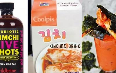 김치덕후도 떨게 만드는 김치음료수 4