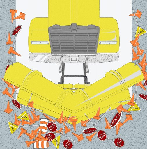 Snowplow parenting = bad!Credit...Illustration by The New York Times
