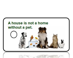 Pet Key Tags