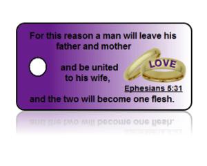 Ephesians 5:31 Bible Scripture Key Tags
