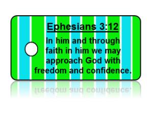 Ephesians 3:12 Bible Scripture Key Tags