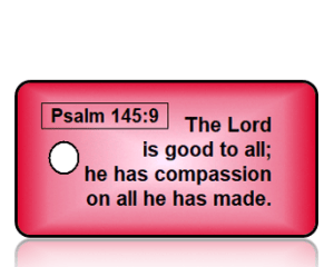 Psalm 145:9 Bible Scripture Key Tags