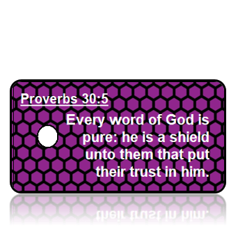 Proverbs 30:5 Bible Scripture Key Tags
