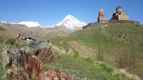 Sameba church, Kazbegi