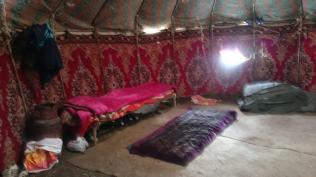 Yurt vacant end of season